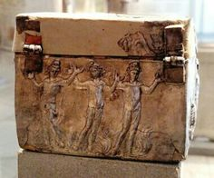 Silver reliquary with scenes from the Old and New Testaments, late 4th century, Museum of Byzantine Culture, Thessaloniki