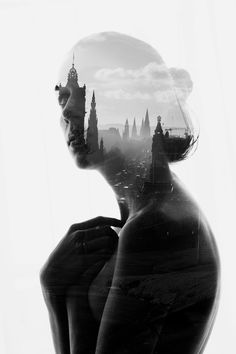 Aneta Ivanova's Beautiful Double Exposure Portraits - My Modern Metropolis