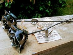 You have found the Perfect Valentines Day gift for him or her! Handmade welded metal roses create the perfect gift. Pair of up-cycled roses made from recycled washers and wire welded together creating beautiful art. Each rose is an individual and a little different all created from the