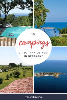 10 campsites directly by the sea in Brittany – Tips for your holiday in France Camping France, Camping In Maine, Camping Spots, Beach Camping, France Travel, Camping Hacks, Camping Holiday, Winter Camping, Camping Normandie