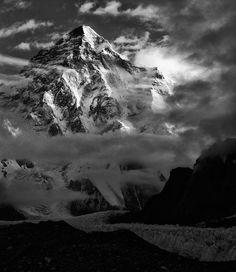 K2 from Broad Peak B.C., Pakistan