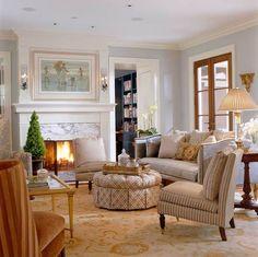 Comfortable Elegance: Meredith Vieira's Home - Traditional Home®