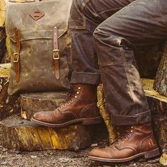 Red Wing Wednesday. @redwingheritage Iron Ranger Boot Style Number 8111 going…