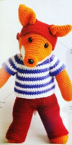 Introducing Ben Fox – Cute Crocheted Animals