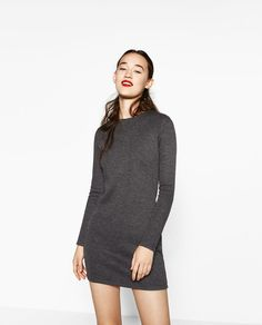 LONG SLEEVE DRESS-DRESSES-WOMAN | ZARA United States