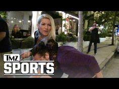 Lacey Von Erich Puts TMZ Camera Guy in Headlock! | TMZ Sports