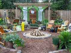 Create a Moroccan hideaway in your own backyard with bright colors, geometric patters, and flowing fabrics.