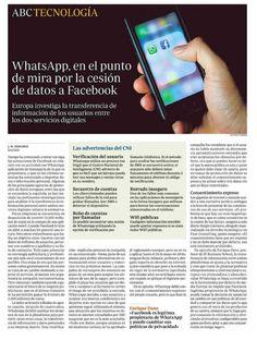 WhatsApp, Facebook y la privacidad.13/10/16