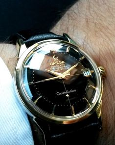 Superb Vintage OMEGA Constellation Piepan Chronometer In Gold-Cap Circa 1960s - omegaforums.net Accessoires für Männer – Gentlemanstore.de