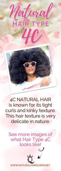 Natural Hair Type 4c | 4c Natural Hair | 4c Hairstyles | Natural Hair Types | 4c Hair | 4c Hair Growth | Healthy Hair | Hair Care #4c #hair #naturalhair #healthyhair