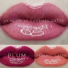 LipSense distributor Perpetual Pucker Plum and Caramel Latte combo, Makeup, LipSense distributor Perpetual Pucker Plum and Caramel Latte combo Source by qtpie_b. Plum Lipsense, Lipsense Lip Colors, Lipstick Colors, Lip Colours, Lipstick Swatches, Senegence Makeup, Senegence Products, Kiss Cosmetics, Caramel Latte