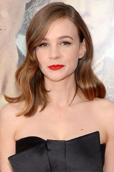 """Who: Carey Mulligan What: Modern Screen Siren How-To: Mulligan went the classic, never-fail route of old Hollywood glamour for the premiere of Suffragette. """"My inspiration for her look came from her exquisite dress. I wanted to keep it classic and clean,"""" said celebrity makeup artist Georgie Eisdell, who gave the actress' skin a velvety base using Perfection Lumiere Velvet then dusted peachy-rose blush across the apples of her cheeks. Next, Eisdell dusted """"barely-there"""" light gray shadow up…"""