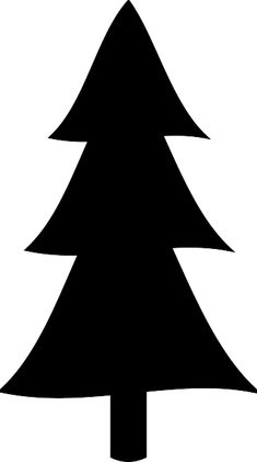 tree silhouettes clip art decorati rh pinterest com pine tree clip art royalty free pine tree clipart black and white