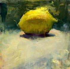 "Joshua Flint - ""Eternal Eminence"" still life oils, 8""x8"""