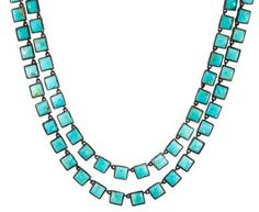 Nak Armstrong - Turquoise Beaded Necklace in Designers Nak Armstrong Necklaces at TWISTonline