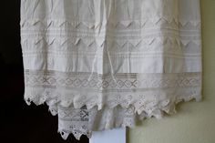 Antique 1870s Victorian Petticoat with Hand by EleanorMeriwether, $35.00