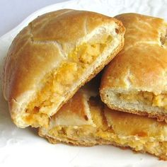 Jewish Potato knishes are a baked dumpling filled with potatoes similar to a Mexican empanada, a British pasty, a Russian pirozhki and an Italian calzone.