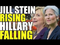 """""""Jill Stein rising Hillary falling  The Millennial Revolt: Jul 16, 2016 Links to all[…] Jill stein just picked up two major endorsements and interest in her campaign has skyrocketted on the other hand Hillary clinton is losing ground in key battle ground states against Donald Trump and her poll numbers are in the toilet"""" #WeCANdoBetter #WeAllNEEDbetter shifting from harming towards healing & harmonizing more #together with #BernieOrGreen2016 & the like #NotMeUS <3"""