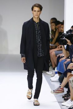 Agnés B Menswear Spring Summer 2016 Paris - NOWFASHION