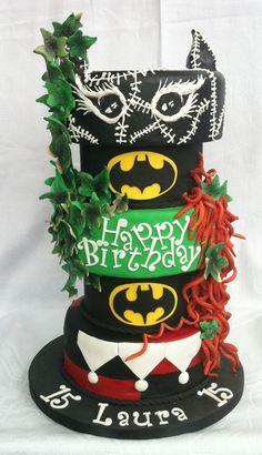 Batman Villains (Ladies) Catwoman, Poison Ivy, Harley |Quinn Castle Cakes, Yorkshire @cakes_castle  07764488868