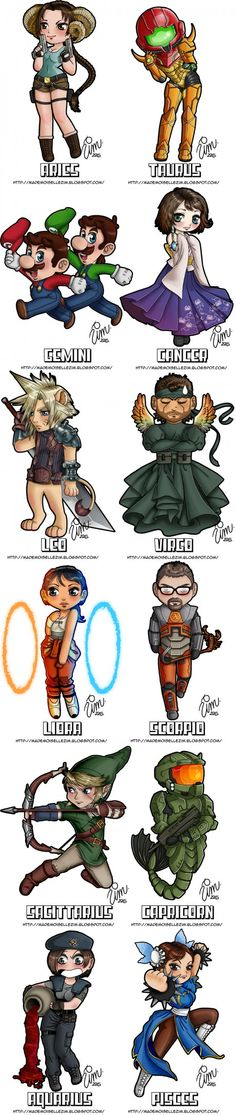 What Is Your Zodiac Sign? - Gamer Edition (By Mademoiselle Zim)