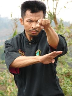 Pamonyet, Pencak Silat (Kang Cecep) Kali Martial Art, Warrior Pose, Martial Arts Techniques, Art Poses, Action Poses, Qigong, Fight Club, Chinese Culture, Tai Chi