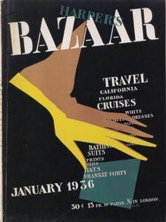 Alexey Brodovitch - Harper's Bazaar, January 1936