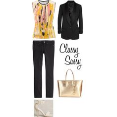 Spring & summer outfit idea for women over 40. Over 40 fashion. Inspiration for stylish women over 40. Featuring pastels and black.