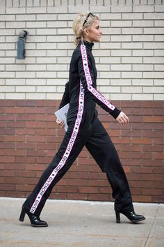 You can wear a tracksuit