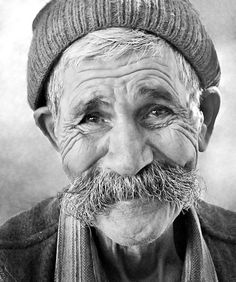 portrait Anatolian by Mehmet AKIN, via Old Faces, Many Faces, Photo Portrait, Portrait Photography, What Kind Of Man, Interesting Faces, Happy People, Smile Face, People Around The World