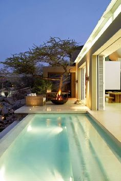 When planning a backyard pool today, you have many options to take into account. The pool of yore - a […] Indoor Outdoor Living, Outdoor Pool, Outdoor Spaces, Moderne Pools, Design Exterior, Luxury Pools, Beautiful Pools, Dream Pools, Swimming Pool Designs