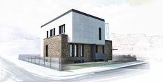 House FA / Sigle Family House / Location: Sibiu / Year: 2014 - 2015 / Team: Mihai Sima, Raluca Sabău / 3D Visualisation: Emese Luha