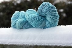 Frost colourway, January 2011 Year in Colour Club Tanis Fiber Arts, Glamour Shots, Color Club, Yarns, Frost, January, Colours, Throw Pillows, Texture