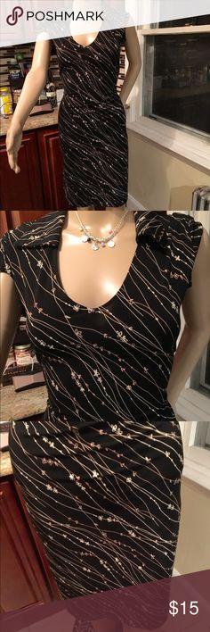 Black casual dress Beautiful casual dress merona Dresses Midi