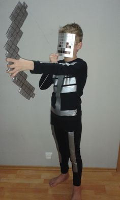 Minecraft skeleton costume                                                                                                                                                                                 More