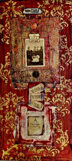 """Tiara"" www.laurierichardsoncreates.wordpress.com www.facebook.com/laurierichardsoncreates"