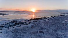 Living Off The Land, Landscape Photography, Sunrise, Celestial, Island, Outdoor, Snow, Papa Noel, Advent Calendar
