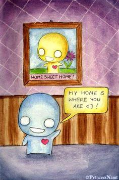 Pon and Zi - Home by PrincessNami.deviantart.com on @deviantART
