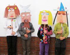 Has zaitez irudimenarekin jolasean. ideas for kids Craft Projects For Kids, Diy For Kids, Activities For Kids, Art Projects, Kids Workshop, Workshop Ideas, Kindergarten Art Lessons, Baby Pink Aesthetic, Art Folder