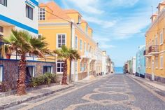 Cobblestone Streets of  Santo Antao - Ponta do Sol; Cabo Verde © Cinoby