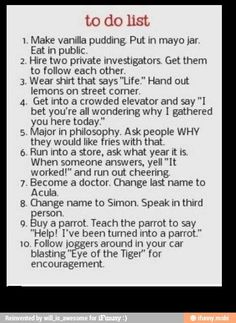 Funny pranks. Hahaha I'm so doing some of these. I like the Life Hands Out Lemons and Time Travel pranks the most.. :)