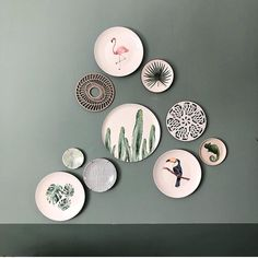 60 Best Wall Decoration Ideas Creative for Your Home - Pandriva Plate Wall Decor, Plates On Wall, Inspiration Wall, Interior Inspiration, Regal Design, Casa Real, My New Room, Home And Living, Living Room Decor