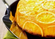 Новогодний апельсиновый пирог