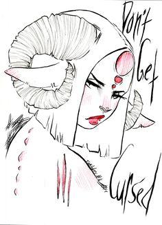 Inktober #16 · Art Of Ashleigh Izienicki · Online Store Powered by Storenvy