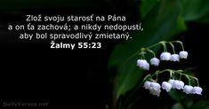 Žalmy 55:23 - DailyVerses.net