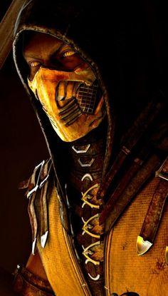 Scorpion Mortal Kombat Mortal Kombat X Scorpion, Escorpion Mortal Kombat, Mortal Kombat Tattoo, Mortal Kombat Comics, Reptile Mortal Kombat, Gas Mask Art, Masks Art, Black Panther Art, Black Panther Marvel