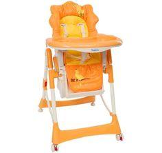 krzesełko do karmienia MAŁPKA pomarańczowa/high chair MONKEY orange High Chairs, Monkey, Orange, Furniture, Home Decor, Monkeys, Interior Design, Home Interior Design, Baby High Chairs