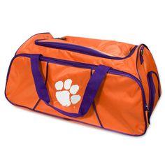 Clemson Tigers Gym Duffle Bag #clemson