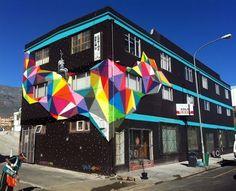 Okuda #worldurbanartists #streetart #graffitiart #wallmurals #freewalls #art #graffiti #urbanart #okuda   San Miguel, Urban Art, Urban Life, Street Art Graffiti, Street Art Berlin, Murals Street Art, Graffiti Piece, Le Street Art, Art Mural