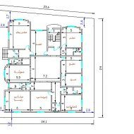 رسم كروكى لمنزل Floor Plans Diagram